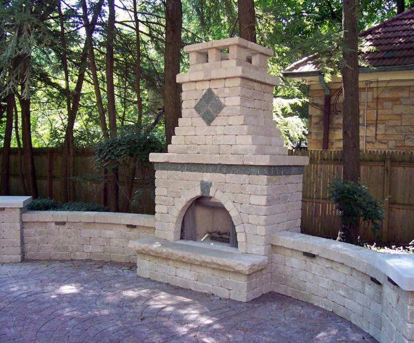 We Share Outdoor Brick Fireplace Designsfireplace Designs Medium