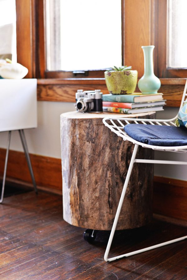 Best Diy Tree Stump Side Table Medium