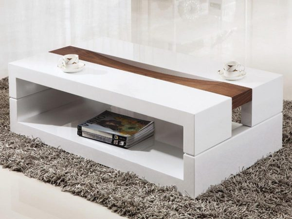 Collection Contemporary Coffee Tables Completing Living Room Interior Medium