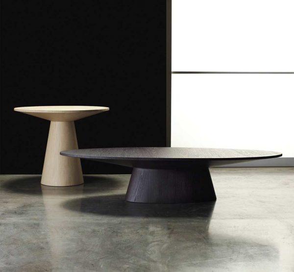 Fresh Encore Oval Shaped Coffee Tablecontemporary Medium