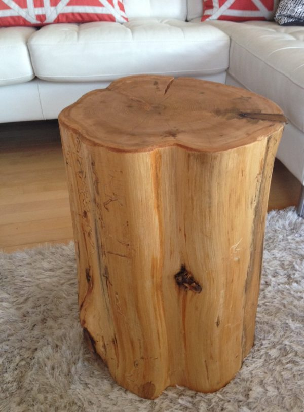 Inspirational Wood Stump Side Tables End Tables Coffee Tables Reclaimed Medium