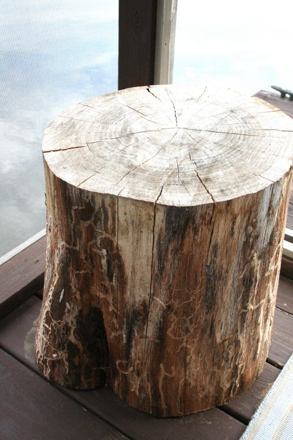 Perfect Tree Stump Side Tablerefresh Restyle Medium