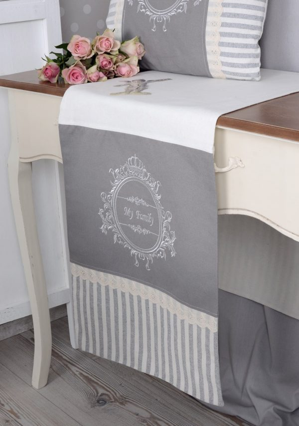 Popular Nostalgic Table Runner Shabby Chic Tableclothebay Medium