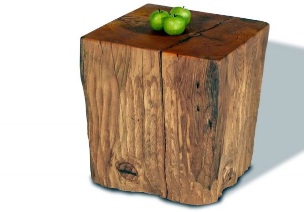 Top Natural Tree Stump Side Table Brings Nature Fragment Into Medium