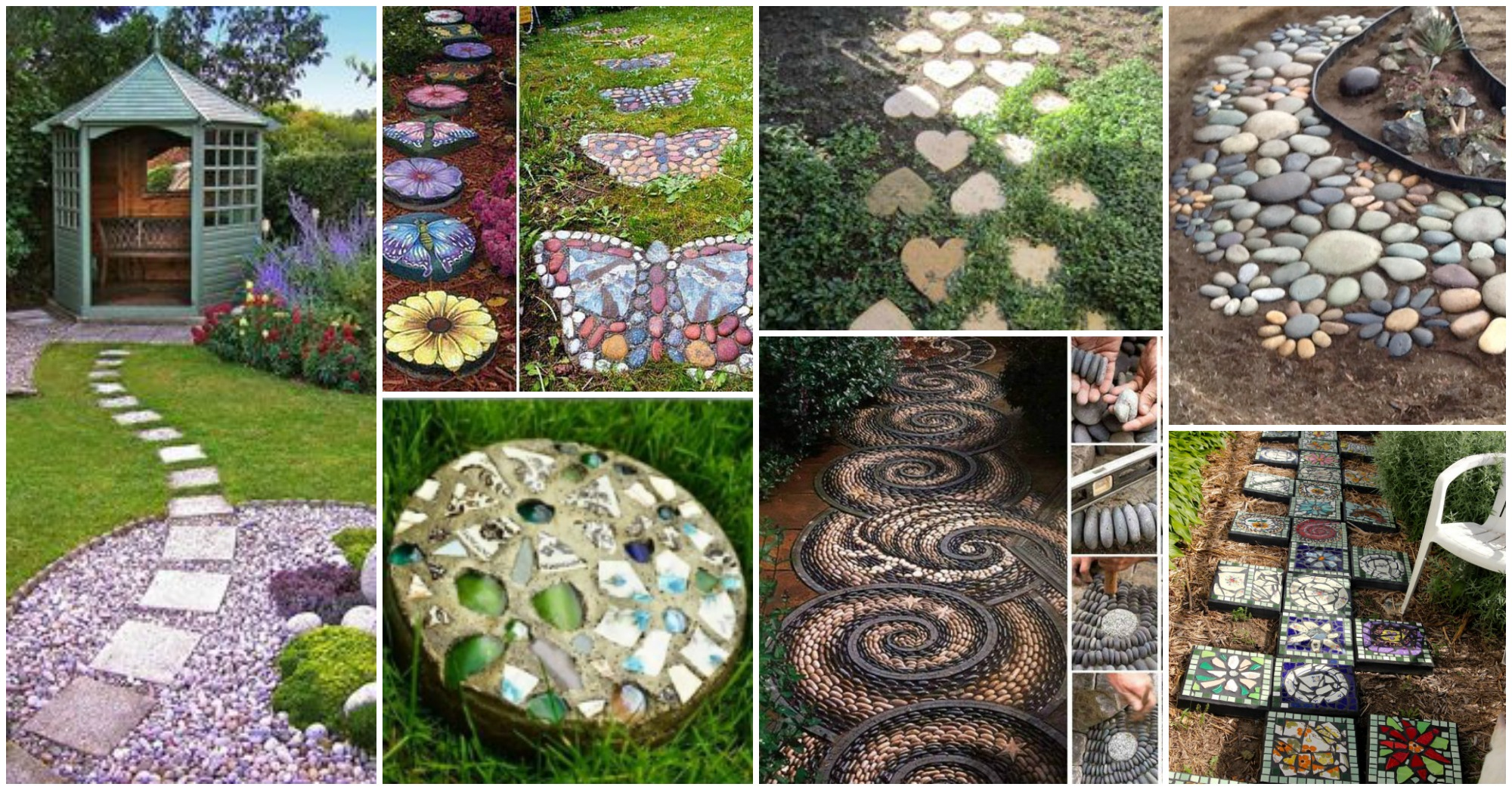creative decorative stepping stones that will blow your mind