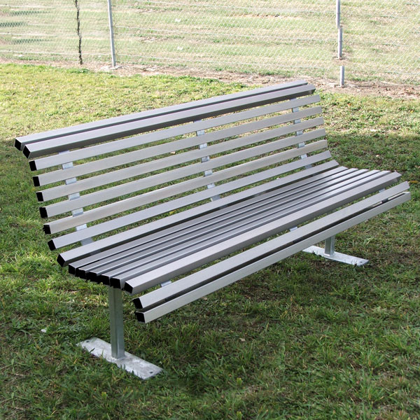 fresh bench design amusing aluminum park bench commercial metal