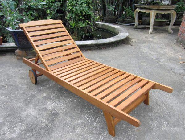 Fresh Bentley Garden Wooden Sun Lounger Buydirect4u Medium