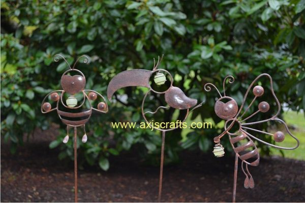 Fresh Decorative Garden Stakes Whimsical Garden Critters Medium