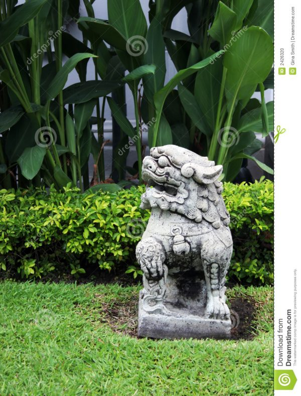 Innovative Garden Statue Stock Photo Image Of Asian Tourism Medium