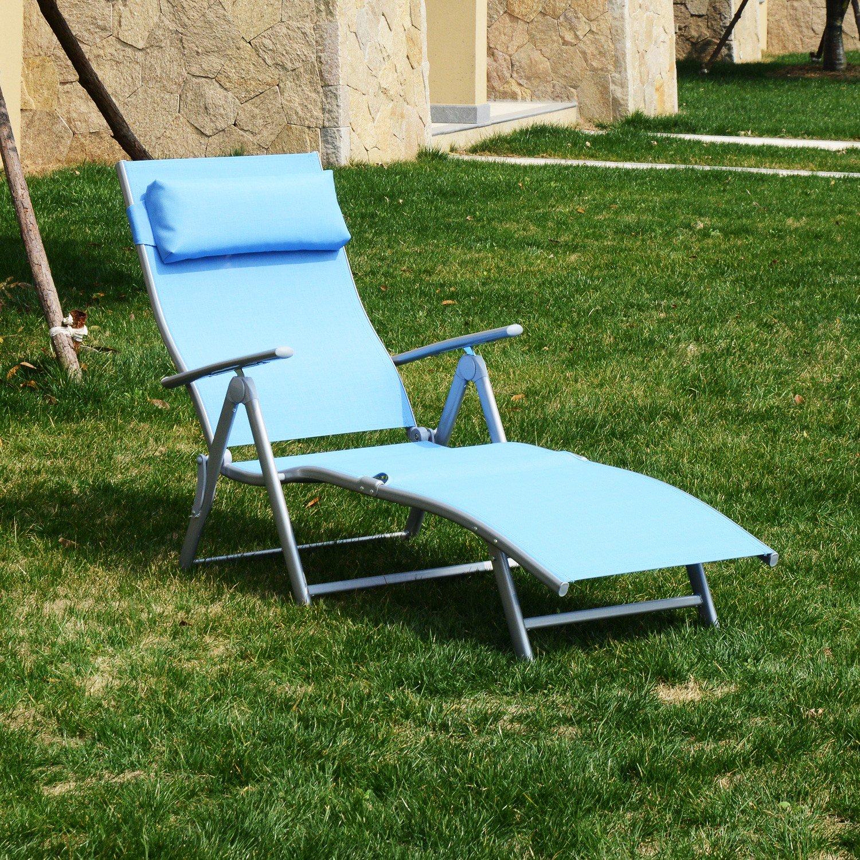 inspirational blue folding lounge chairaosomca