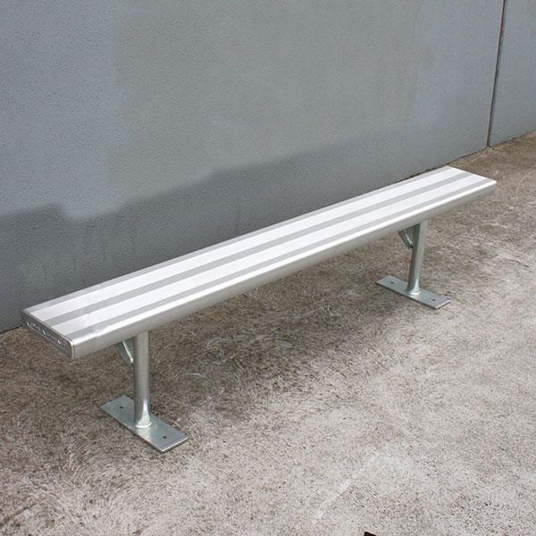 looking aluminium bench seataluminium seating planksdraffin