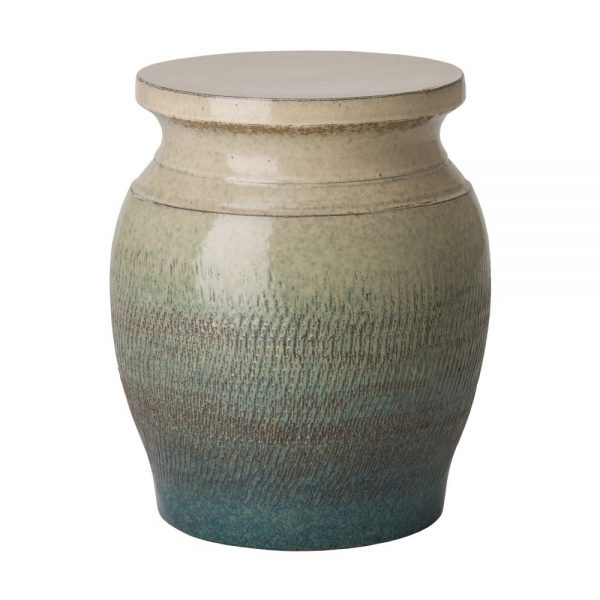 Our Favorite Bayside Green Koji Garden Stool Seven Colonial Medium