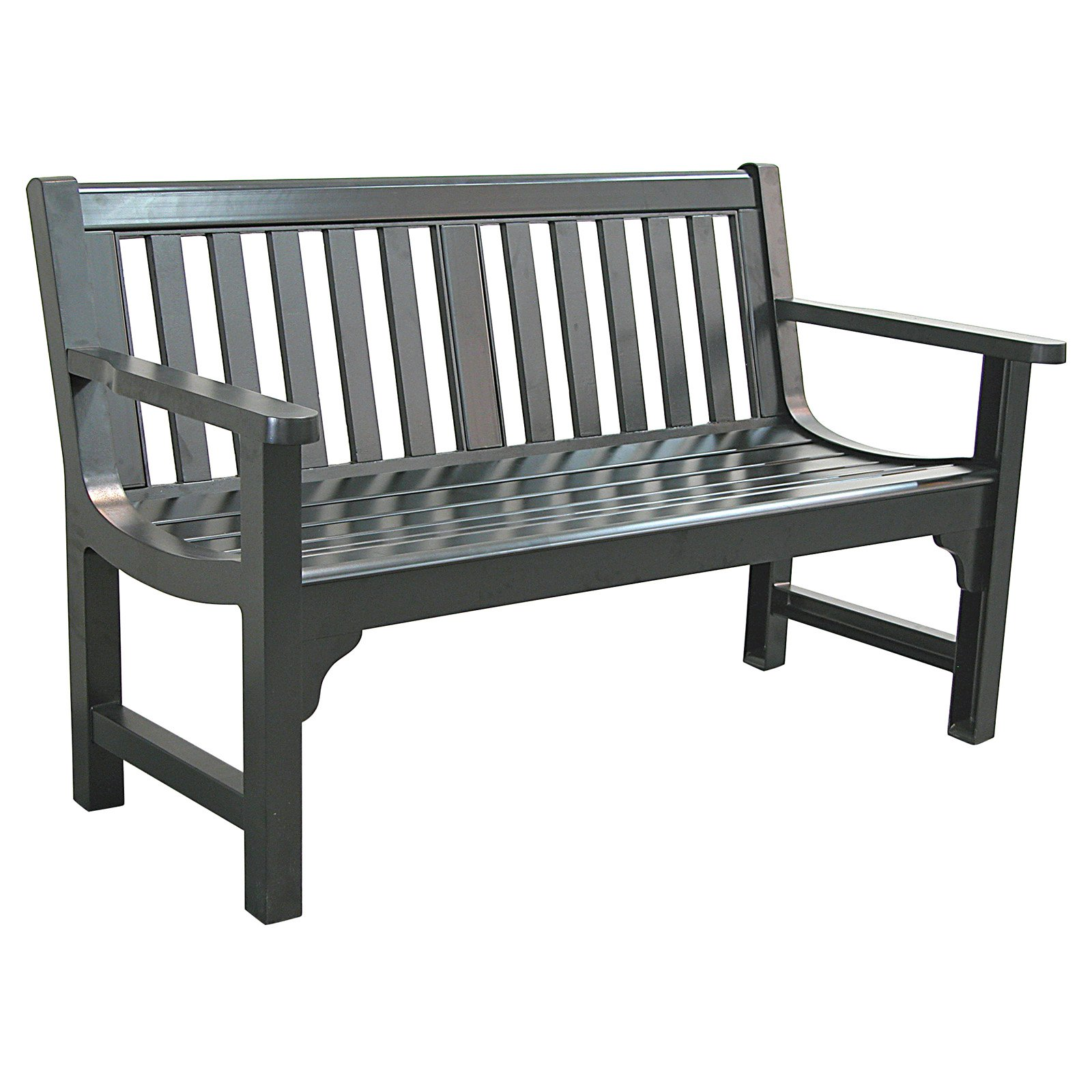 our favorite innova charleston 4 ft cast aluminum park bench outdoor
