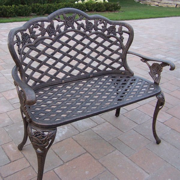 Perfect Metal Garden Benches Medium