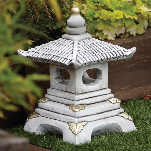 Tips Chinese Garden Ornaments One Tier Japanese Pagoda Medium