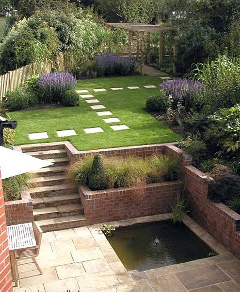 Best 25  Unique Sloped Garden Ideas On Sloping Medium