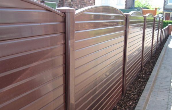Best Brown Upvc Plastic Fence Panelcocklestorm Fencing Medium