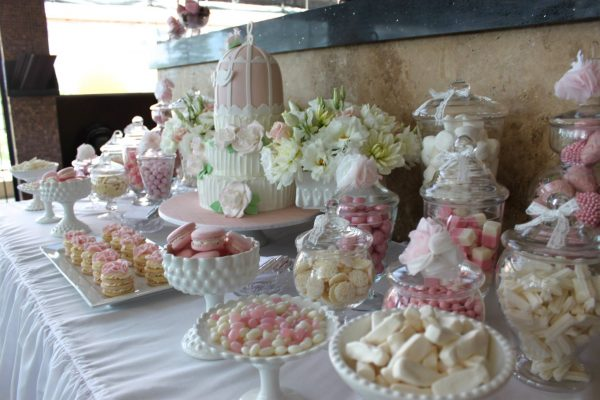Best Pink   White Engagement Partytickled Pink Party Ideas Medium