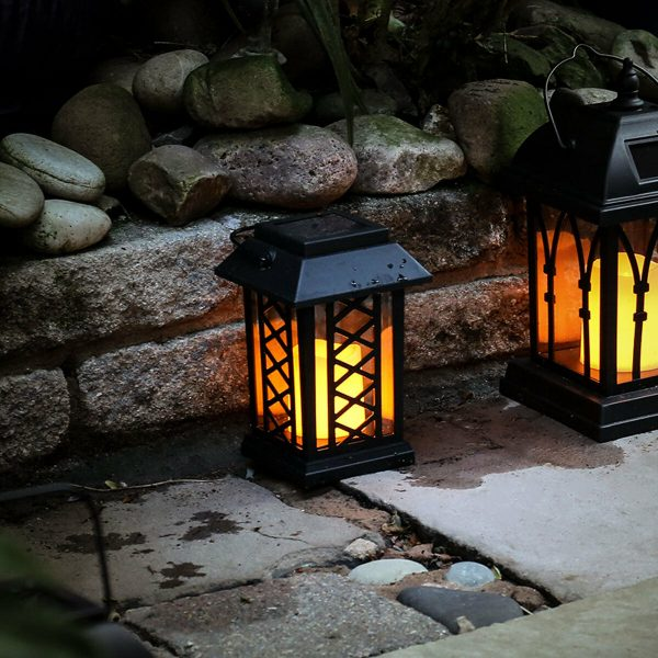 Best Solar Powered Outdoor Garden Patio Table Hanging Candle Medium
