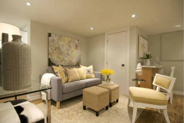 Bore 1000  Ideas About Small Basement Apartments On Medium