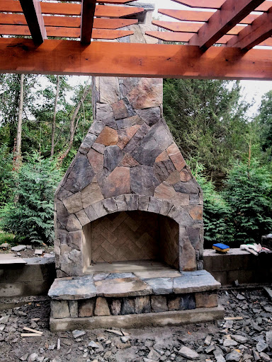 Bore 12 Outdoor Fireplace Plansadd Warmth And Ambience To Medium