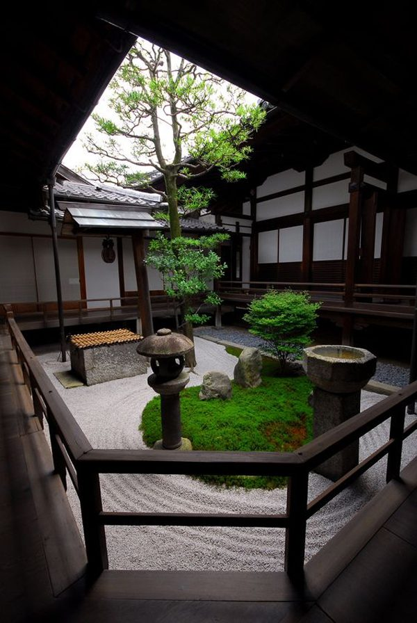 Bore 15 Mix Modern Japanese Courtyard With Naturehouse Medium