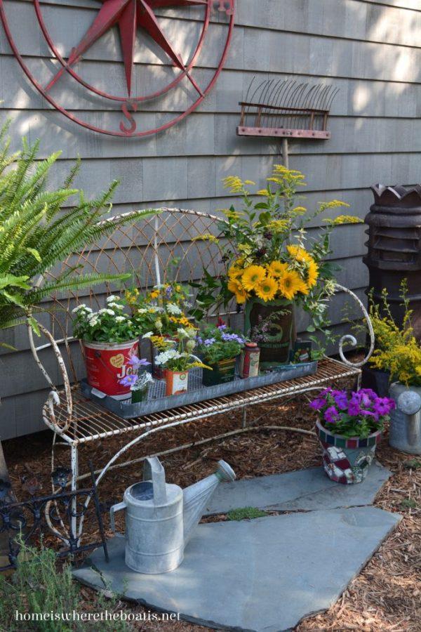 Bore 264 Best Images About Rustic Garden Decor On Medium