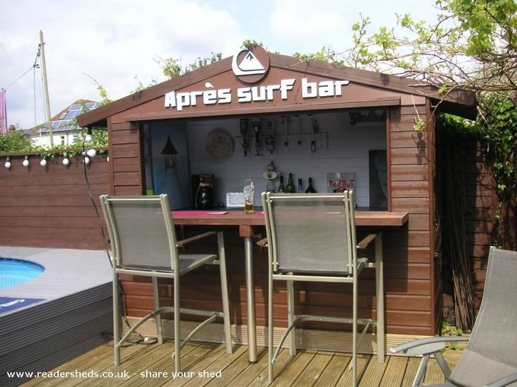 bore 41 best bar shed ideas images on  backyard with
