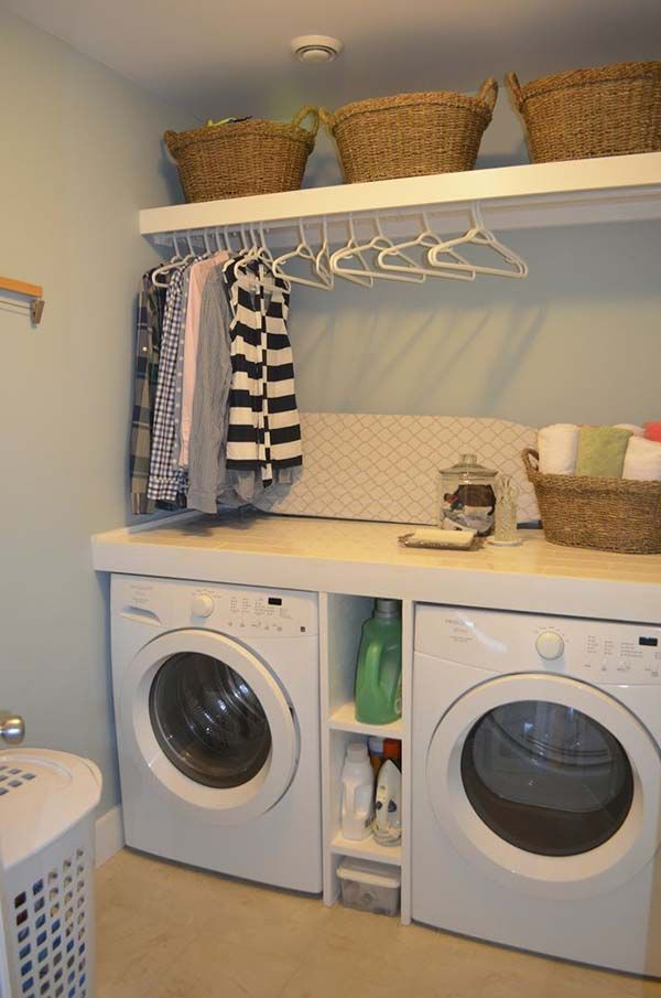 bore 60 amazingly inspiring small laundry room design ideas