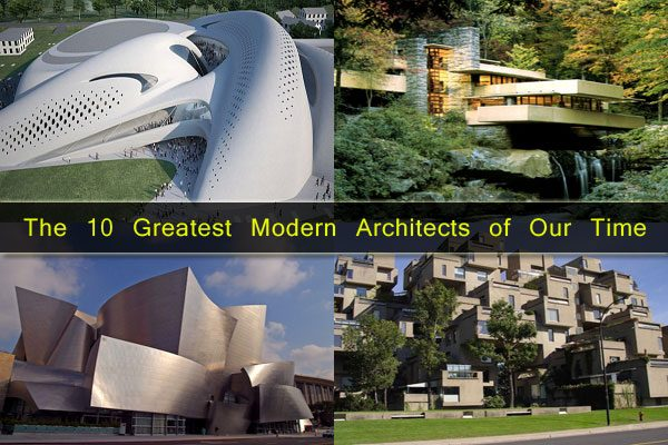 Bore Iconic Legends The 10 Greatest Modern Architects Of Our Medium