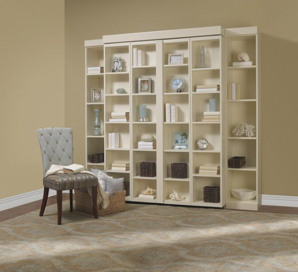 Bore Madison Bifold Bookcase Bed Contemporary Living Room Medium