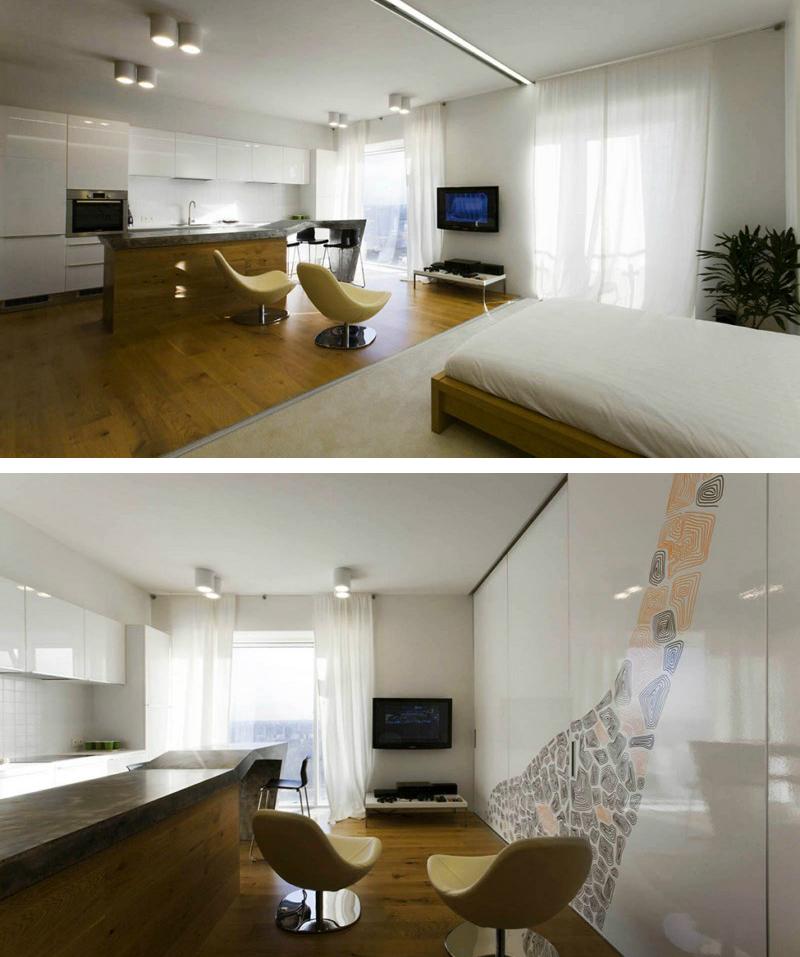 bore retractable walls for flexible living