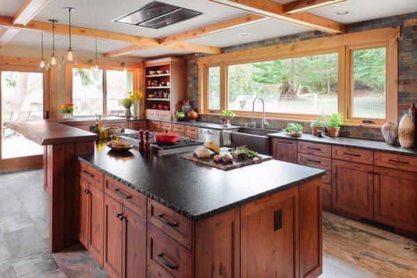 Bore Rustic Farmhouse Kitchen Design Carnation Wa Medium