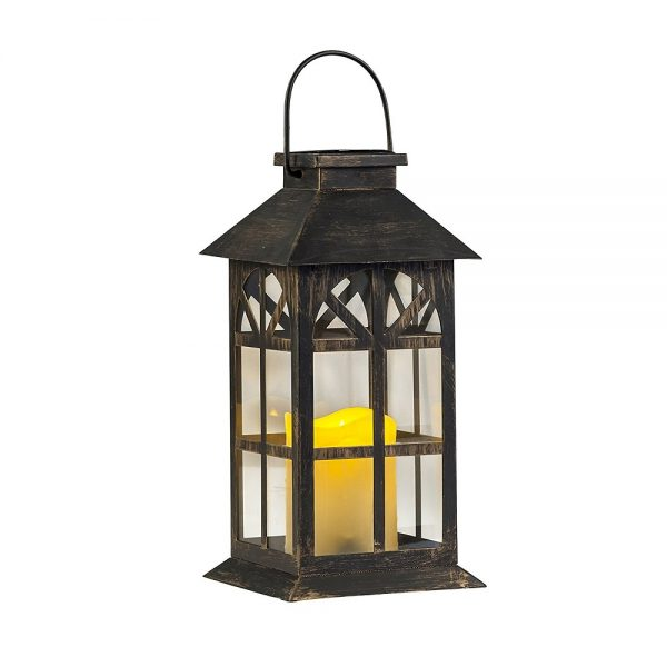 Bore Steadydoggie Indoor Outdoor Solar Lantern For Patio And Garden Medium