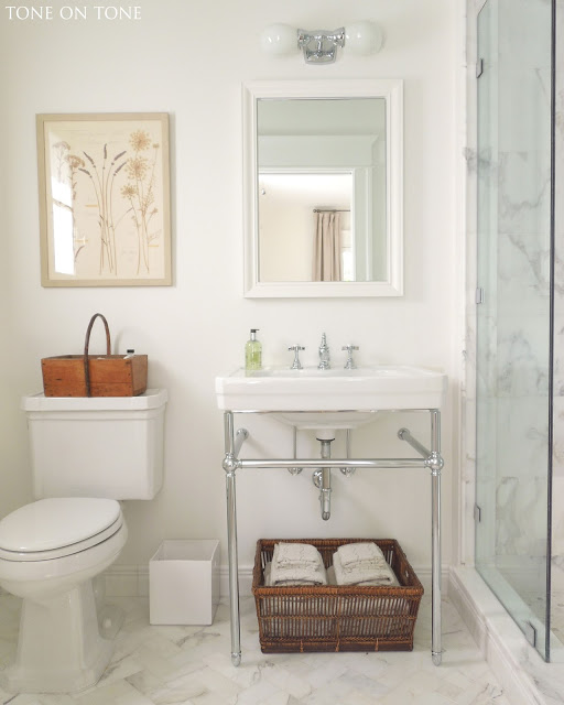 Bore Tone On Tone Small Bathroom Renovation Medium