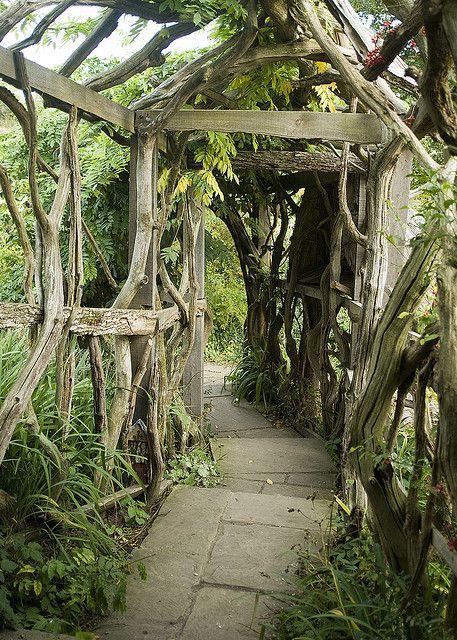 Bore Witch Garden   Living Tunnel In Furzey Gardens Hampshire Medium
