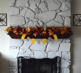 browse diy painted stone fireplacehometalk
