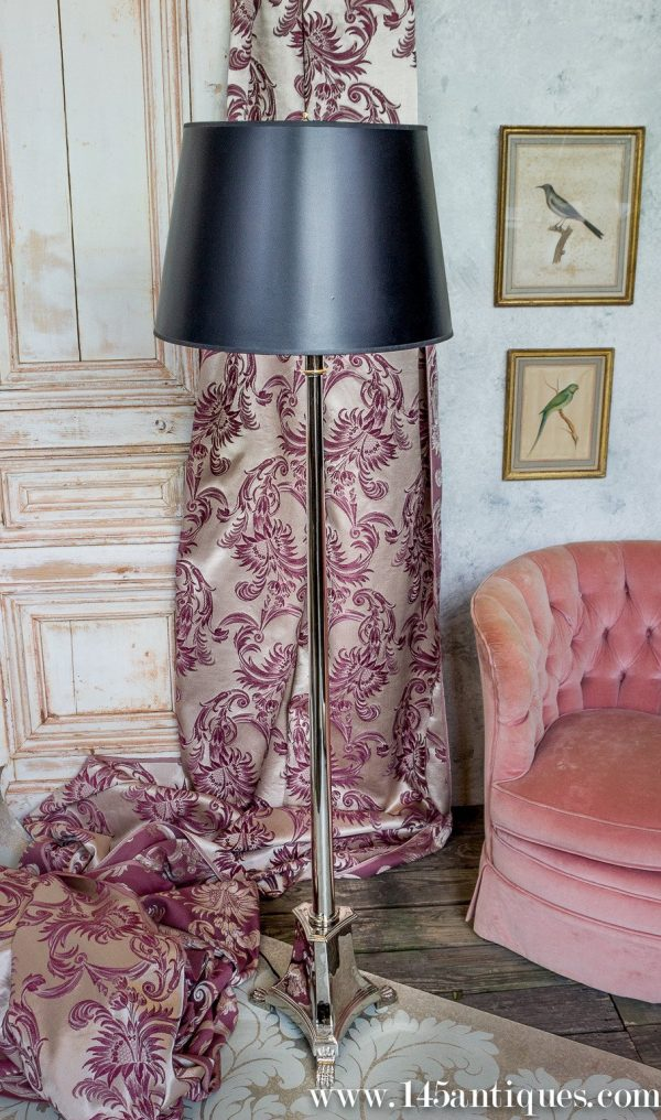 Browse French Neoclassical Style Nickelplated Floor Lamp At 1stdibs Medium