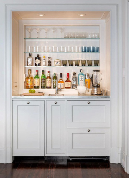 Browse Home Bars That Serve Up Style The Decorating Files Medium