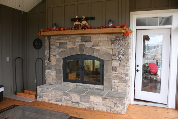 Browse Ideal Prefab Wood Burning Fireplace  The Wooden Houses Medium
