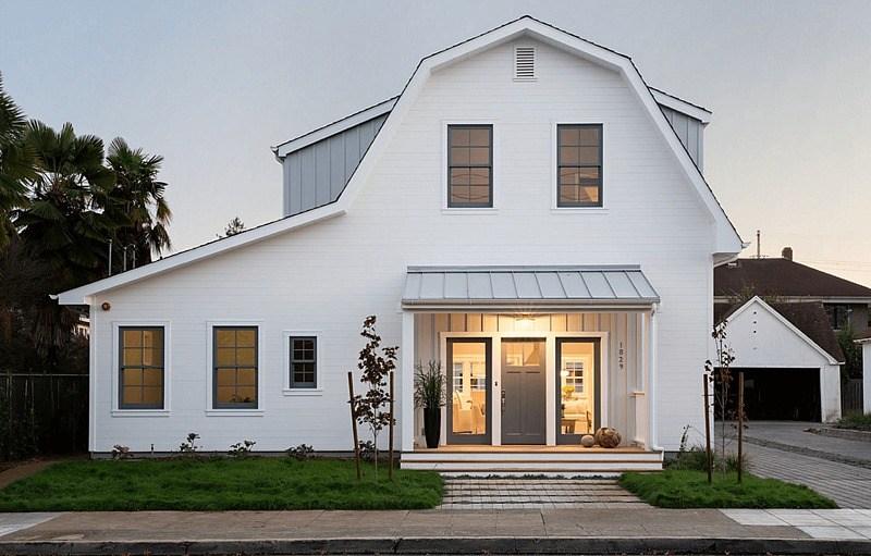 browse key characteristics of modern farmhouse homes