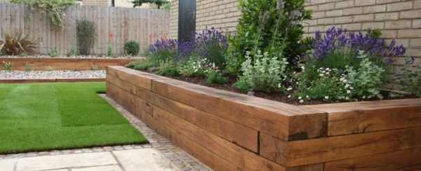 Browse Raised Flower Bed In Burnham On Sea With Regard To Beds Medium