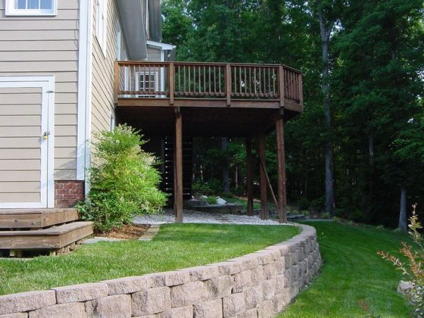 Clever 17 Best Images About Sloped Back Yard Ideas On Medium