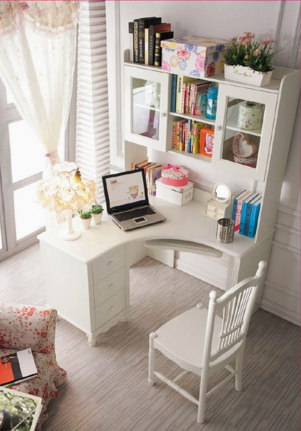 Clever 41 Sophisticated Ways To Style Your Home Office Loombrand Medium