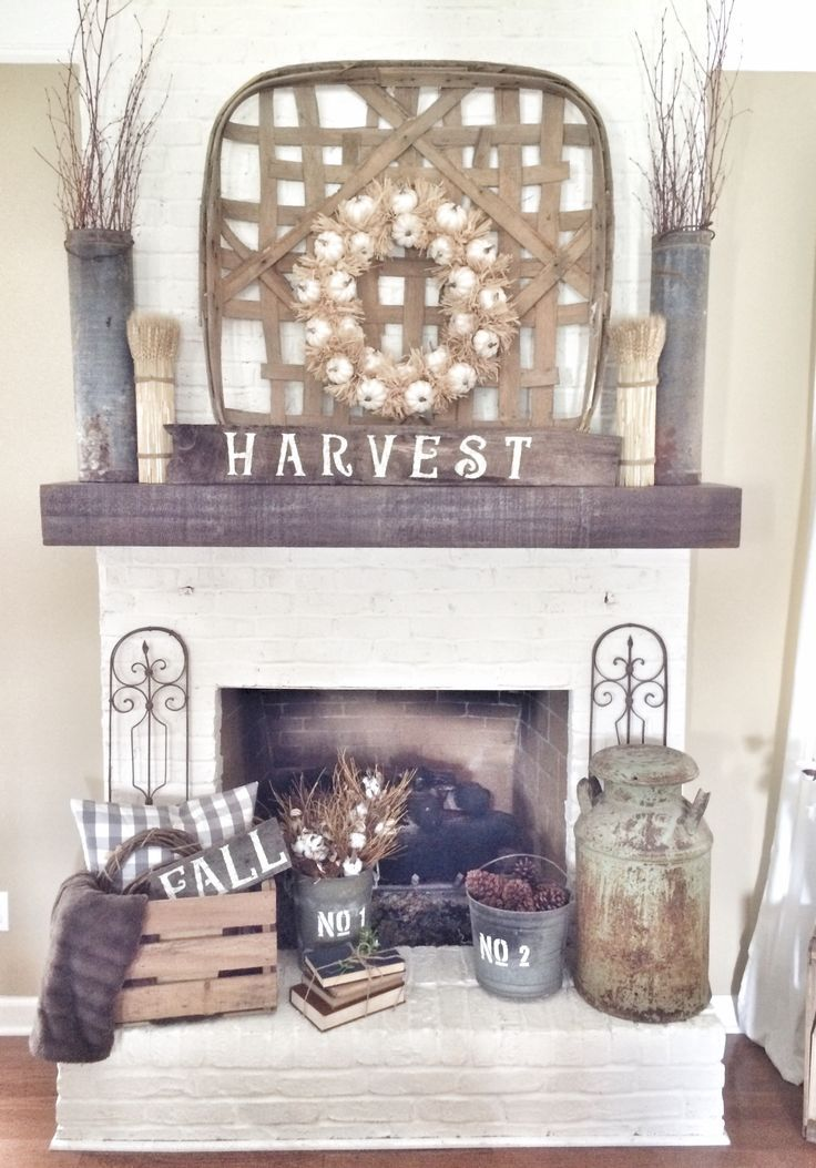 clever best 25  fall fireplace decor ideas on fall