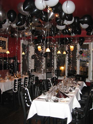 clever black and white theme partywhite partyideas to