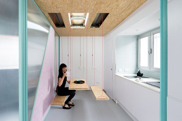 clever moving walls   secret furniture the delightfully flexible