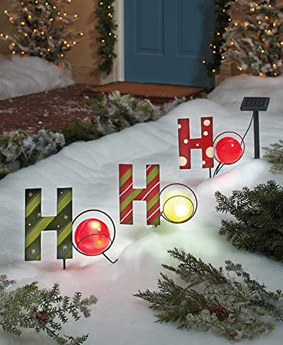 Clever Outdoor Solar Powered Decorations For Christmas Medium