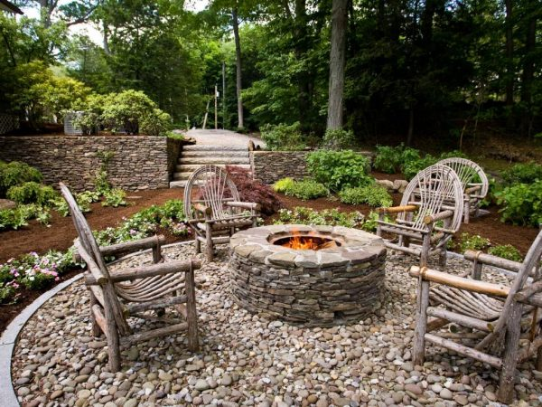 Clever Rustic Style Fire Pitshgtv Medium