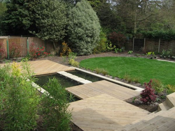 Collection 10 Best Images About Sloping Garden Designs On Medium